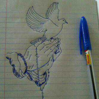 Hand with dove ink drawing.JPEG